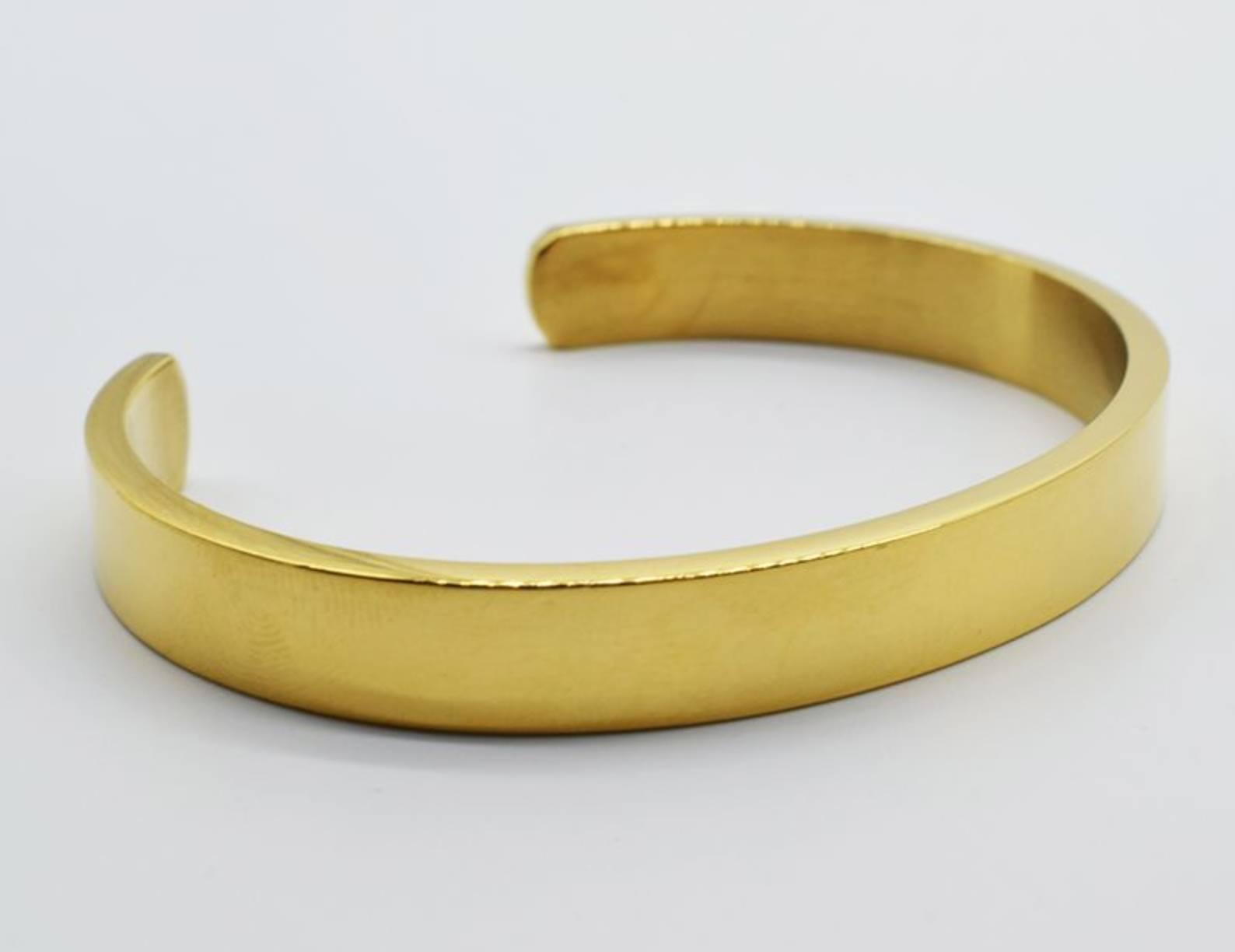 Golden Wrist Bangle