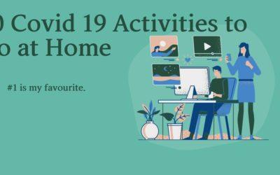 10 Coronavirus Outbreak Activities To Do At Home